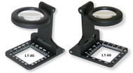 Carson Metal LinenTest Magnifier with Pouch