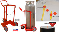 Wesco Large Liquid Gas Cylinder Cart