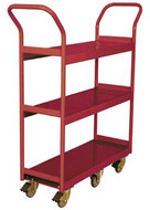Wesco Narrow Aisle Shelf Cart