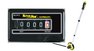 "Komelon 4"" and 6"" Meter Man Measuring Wheels"