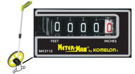 "Komelon 10"" and 14.3"" Meter Man Measuring Wheels"