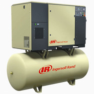 Ingersoll Rand Rotary Screw Air Compressors w/ 80gal Tank Mount