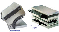 Precise MAGNETIC SINE PLATES, Single and Compound Angles
