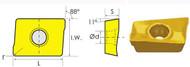 APKT/PF CARBIDE SHOULDER MILLING INSERTS (11MM, 16MM)