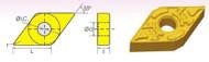 DNMG/DF 55° DIAMOND NEGATIVE RAKE CARBIDE INSERTS