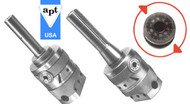 APT Precision Boring Heads With Integrated Shanks