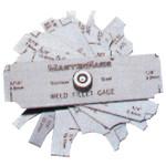 Mastergage Fillet Welding Gage - 64002356