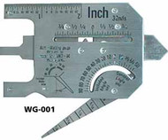 Cam Type Welding Gage Master Gage - WG-001