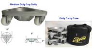 BOND Material Handling Medium Duty Cast Semi-Steel Cup Dolly - 2127-BP