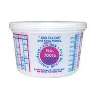 EZ Mix 70016 Disposable 1 Pint Mixing Cup 100 Pack - EZX70016