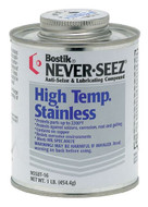 Bostik Never-Seez High Temperature Stainless Anti-Seize, 1 lb. Brush Top - 81-006-601