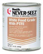 Bostik Never-Seez, White Food Grade with PTFE, 14 oz. - 81-006-605