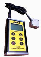 Phase II 3-D Vibration Meter - DVM-2000