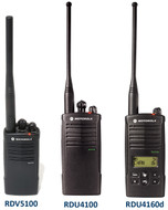 Motorola RDX Series Two-Way Radios