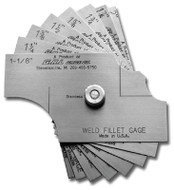 G.A.L. Gage 8 Piece Fillet Weld Sets