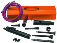 Cleco B1 Series Lever Start Needle Scaler Kit - B1-CNB-LT-RD-K