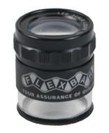 Flexbar 10X LED Lighted Pocket Optical Comparator - 12505