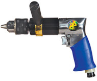 "Astro Pneumatic 1/2"" Extra Heavy Duty Reversible Air Drill 500rpm - 527C"