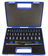 Fowler Xtra-Punch 36 Piece Transfer Punch Set - 7-482-040