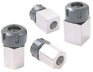 Precise Hex/Square ER Collet Blocks