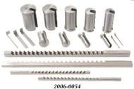 Precise HSS Keyway Broach Sets