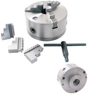 "Precise 6"" 3-Jaw Self-Centering Lathe Chucks"