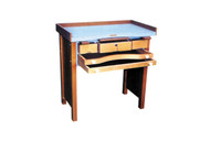 Grobet USA Jewelers' Deluxe Workbench with Three Drawers - 13.049