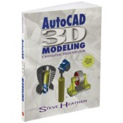 Industrial Press AutoCad 3D Modeling Exercise Workbook - CAD-6130