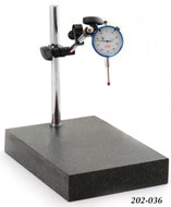 """Precise Dial Comparator Stand w/ 1"""" Dial Indicator - 202-036"""