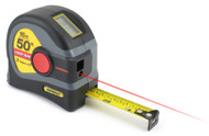 General 2-in-1 Laser Tape Measure, 50' Laser Distance Measure, 16' Tape - LTM1