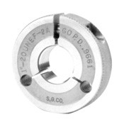 "Metric AGD Style Thread Ring Gages, 6G Tolerance ""Go Ring"""