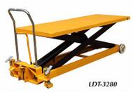 Wesco Long Deck Scissors Tables