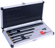 Precise 5 Piece Indexable Internal Threading Tool Holder Set - 2305-1005