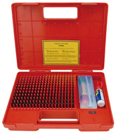 Precise Pro-Series Black-Oxided Steel Pin Gage Set - 4101-0102