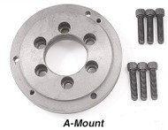 Precise A, D & L Mount Semi-Machined Chuck Adapters (Back Plates)