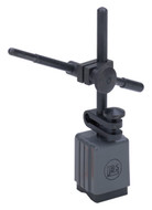 Brown & Sharpe 599-7763 Miti-Mite Magnetic Base Indicator Holder, Fixed Upright Post with Fine Adjustment - 20-577-3