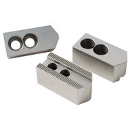 Precise Steel or Aluminum Soft Jaw 3 Piece Sets