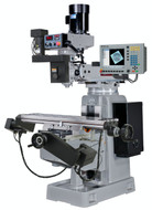 """Kent CNC Knee Mill with MILLPWR G2 Control, 12"""" x 50"""" 3HP, 3-Axis - KTM-4VKF-3"""
