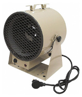 TPI Portable Electric Forced Air Unit Heater, 10,239 to 13,652 BTU Rating, 262 CFM - 90-538-0