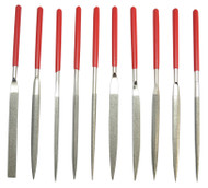 Grobet Diamond Needle Files, 10-piece Set #33.950 - 55-533-4