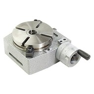 "Precise 4"" Horizontal/Vertical Rotary Table & Dividing Plate"