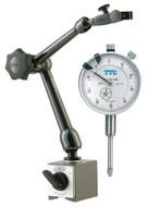 "NOGA MG61003 Magnetic Base & TTC 1"" Dial Indicator Set - 57-080-094"