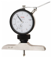 SPI Dial Depth Gage, 0-100mm Range, 63mm Base - 20-158-2
