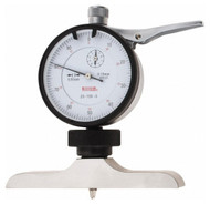 SPI Dial Depth Gage, 0-100mm Range, 101mm Base - 20-159-0