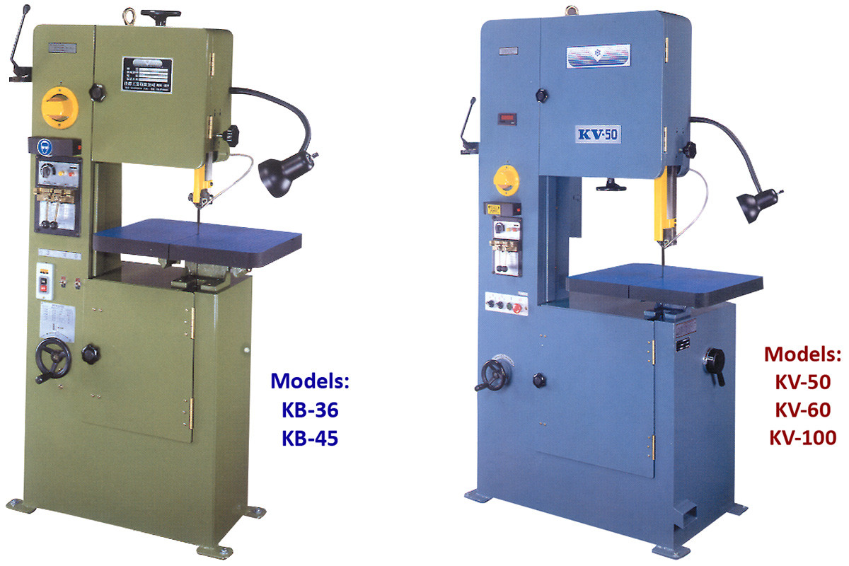 Birmingham/Accord Vertical Band Saws - Floor Models - Penn Tool Co., Inc