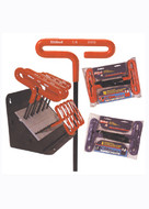 CUSHION GRIP T HANDLE HEX KEY SETS