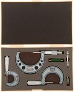 "Mitutoyo Micrometer Set 0-3"" - 103-922"