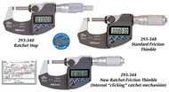 Mitutoyo Coolant Proof Micrometers - Series 293