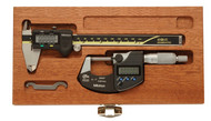Mitutoyo Digimatic Electronic Micrometer & Caliper Kit