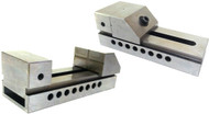 "Precise Precision Screwless Vise Jaw Width 3"", Jaw Opening 4"", Jaw Depth 1-5/8"", O.A.L. 7"" - RTV-370"
